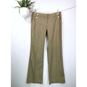 NWOT Cabi #377 Tweed Transition Trouser Pants
